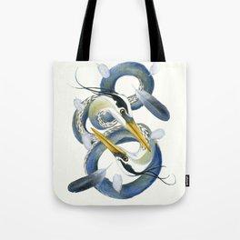 A Couple Of Herons Tote Bag