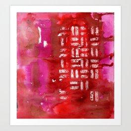Thinking of China Art Print