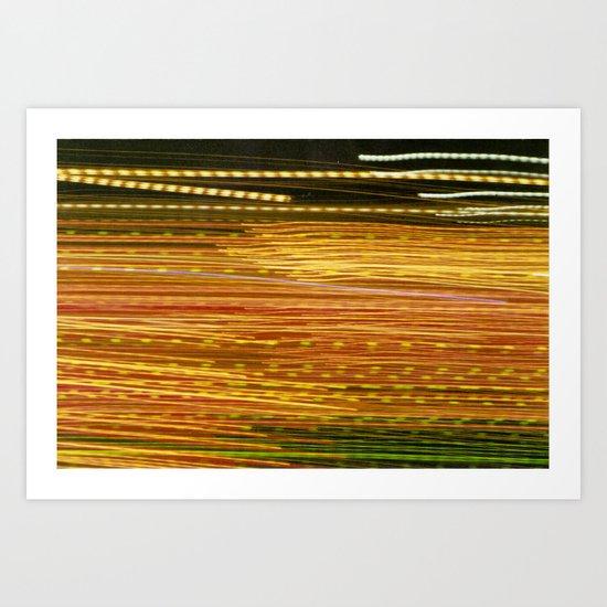 ColorStream Art Print