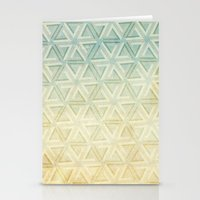 escher Stationery Cards featuring escher pattern by Vin Zzep