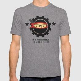 Programmer - Ninja Programmer T-shirt