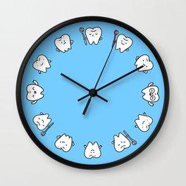 Teeth family Wall Clock
