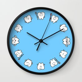 Teeth family Wall Clock
