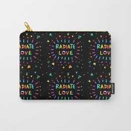 Radiate Love Carry-All Pouch