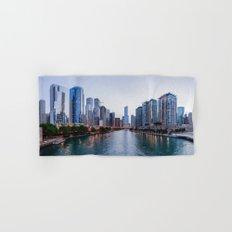 Chicago River Hand & Bath Towel