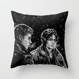 Dead Winter Throw Pillow