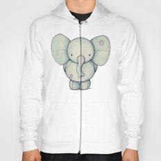 Cute Elephant Hoody