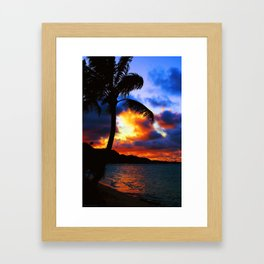 Heavens Afire 2 Framed Art Print