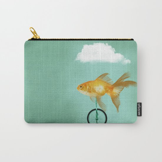 unicyle goldfish III Carry-All Pouch