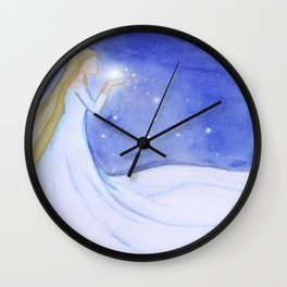The Snow Queen Wall Clock