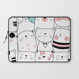 Hipster Cats Laptop Sleeve