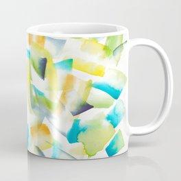 180719 Koh-I-Noor Watercolour Abstract 30| Watercolor Brush Strokes Coffee Mug