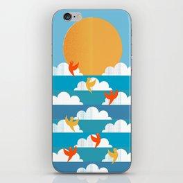Birds Flying High iPhone Skin