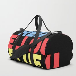 Red Yellow Blue Duffle Bag