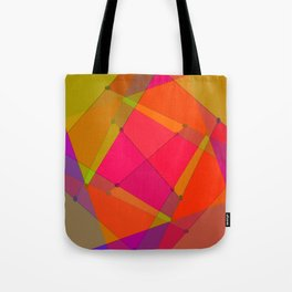 0207 Construction by colors ... Tote Bag