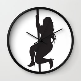 Javier's Dream Girl Wall Clock