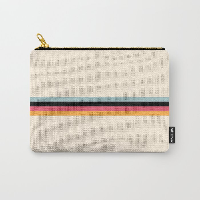 Ishtar - Classic Retro Summer Stripes Carry-All Pouch