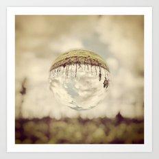 Bubble Art Print