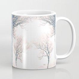 Symmetrical Winter Forest Coffee Mug