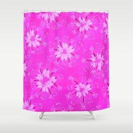 Lilac Lane Rose Shower Curtain