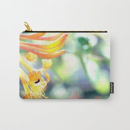 Honeysuckle ad Bee Spring Carry-All Pouch
