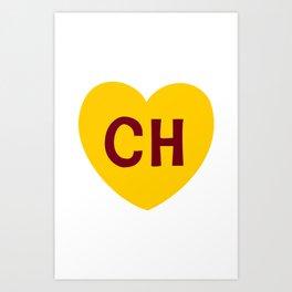 Escudo del Chapulin Art Print