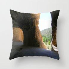 Bandelier 2 Throw Pillow