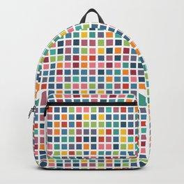 City Blocks - Subtle Rainbow #453 Backpack