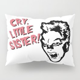 Vampire Michael, Cry! Design for Wall Art, Prints, Posters, Tshirts, Women, Men, Youth Pillow Sham