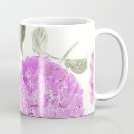 seamless   pattern of hydrangea flowers Coffee Mug