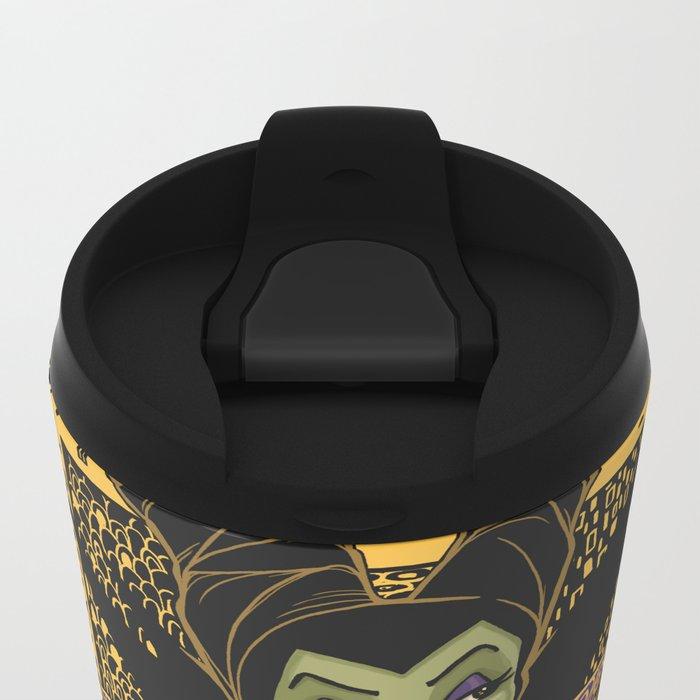 The Dark Faerie Metal Travel Mug
