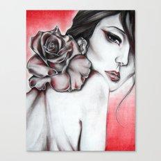 Asian Rose  Canvas Print