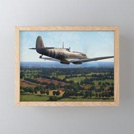 Supermarine Spitfire Framed Mini Art Print