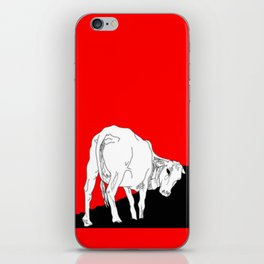 Don't eat me iPhone Skin