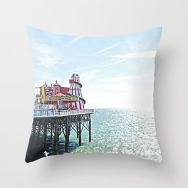 Seaside Excursion Throw Pillow