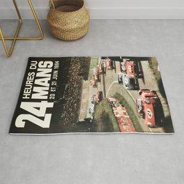Le Mans 1964, Le Mans poster, Le Mans t shirt, Race poster, Rug