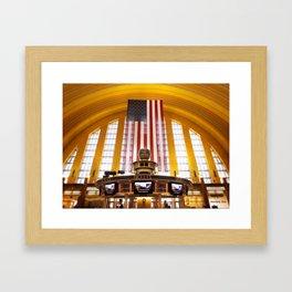 Terminal Delight Framed Art Print