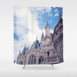 The wild blue yonder  Shower Curtain