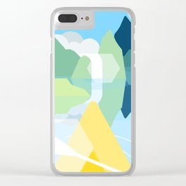 Bright Day Light Clear iPhone Case