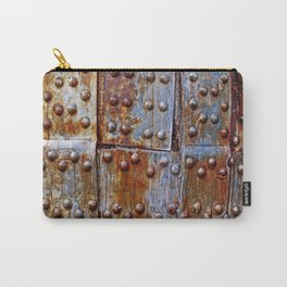 Rusty iron armour Carry-All Pouch