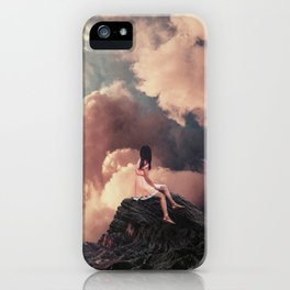 You came from the Clouds iPhone Case
