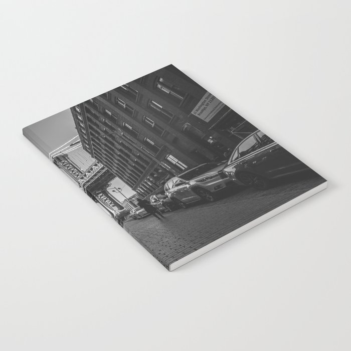 New York City Bridge (Black and White) Notebook