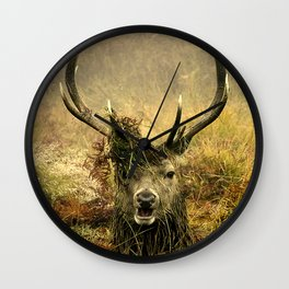 Stag Party Wall Clock