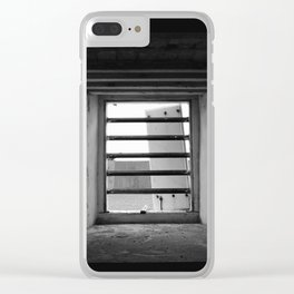 Barred Clear iPhone Case