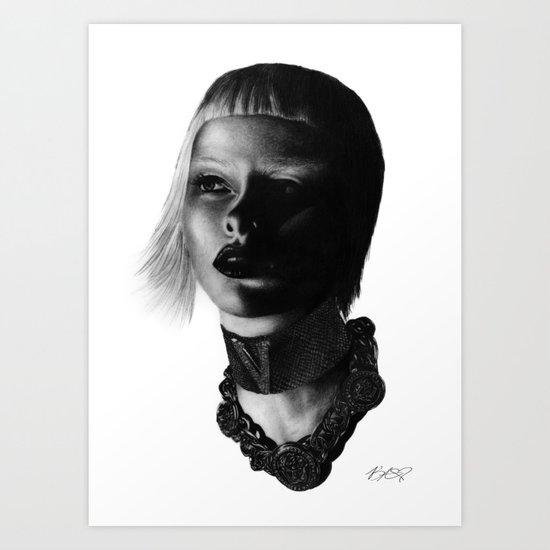 Versace InSanity. Art Print