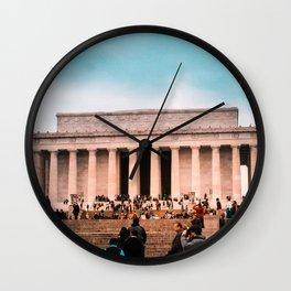 Lincoln Memorial building Wall Clock