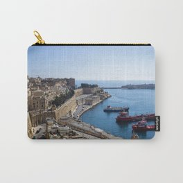 View of Valletta's harbour from the top of the city Carry-All Pouch