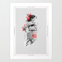 Women Aren't Objects Art Print