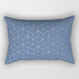 In the City Rectangular Pillow