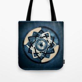 Cosmic Eye Mandala Tote Bag